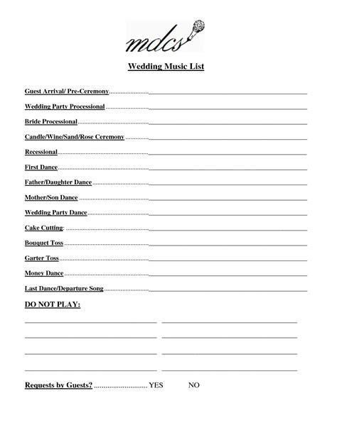 Wedding Party List Template Free   FosterHaley Wedding