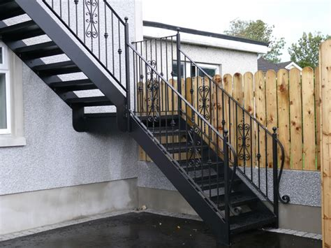 Outdoor Metal Stairs Outdoor Steel Stairs External Steel Stairs External