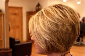 side view modified stacked hairstyle love this stacked modified bob hair pinterest