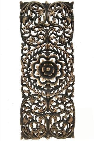 floral wood carved wall panel wood wall decor for sale asiana home decor
