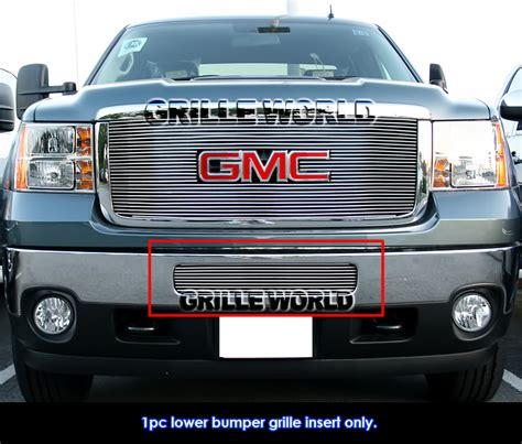 gmc 2500hd grille for 2011 2014 gmc 2500hd 3500hd bumper billet