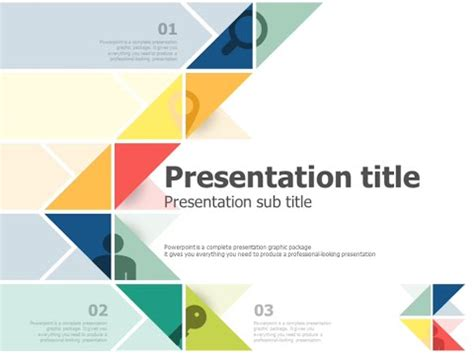pattern making ppt triangle pattern ppt template animation youtube