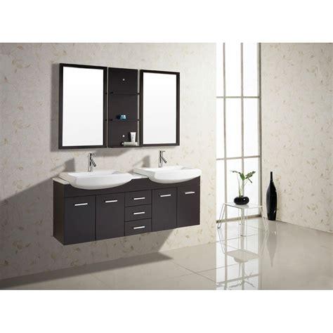 virtu bathroom accessories virtu usa ophelia 59 quot double sink bathroom vanity