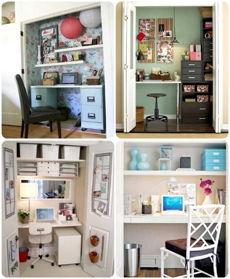Home Office Closet Converting Closets Nooks And Furniture Into Functional