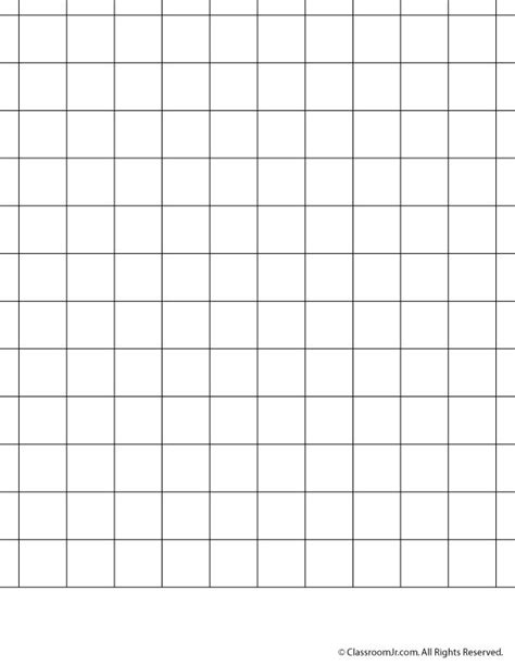 Galerry printable plain graph paper
