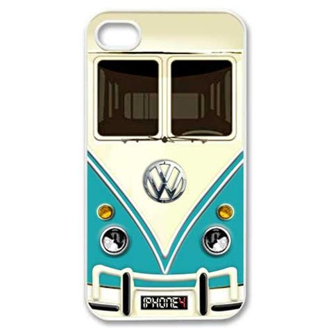volkswagen minibus cer iphone 4 4s blue teal from simplegiftshop