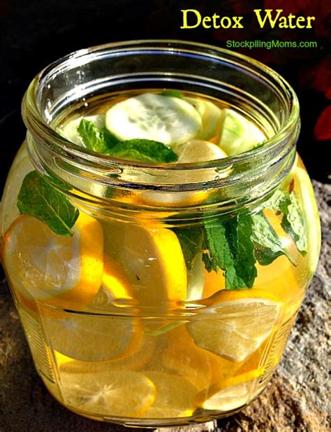 Detox Diet Water Recipe by Image Gallery Lemon Detox Water