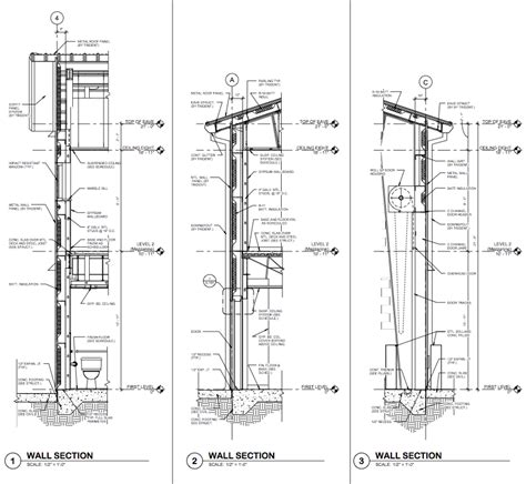 steel building section drafting sle wall sections pemb rlj of south