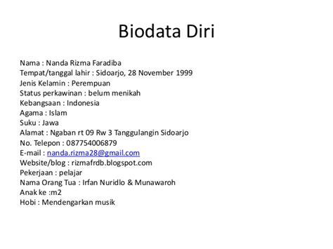 contoh format biodata siswa lengkap contoh biodata diri lengkap siswa downlllll