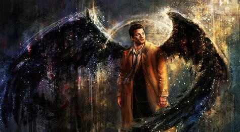 supernatural backgrounds supernatural castiel wallpaper 183