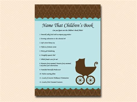 Baby Shower Titles by Baby Carriage Baby Shower Pack Magical Printable