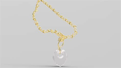 how to make neck chain with neck chain 3d model asm cgtrader