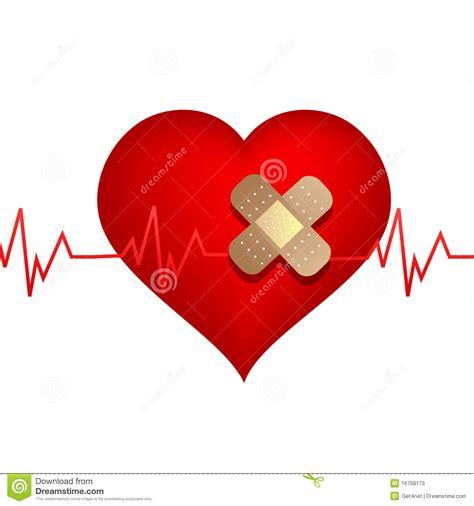 imagenes de amor herido coraz 243 n herido con el vendaje fotos de archivo imagen