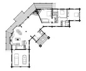 Log Cabin Home Floor Plans Log Home Floor Plan Sierra Vista