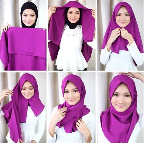 tutorial hijab pashmina simple terbaru 2015 kumpulan tutorial hijab terbaru untuk ke kantor