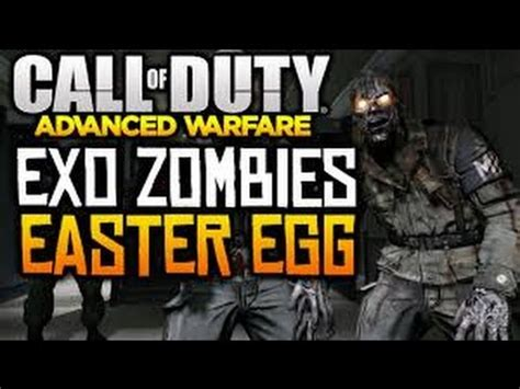 exo zombie tutorial ita advanced warfare exo zombies quot hidden song quot easter egg