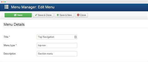 design navigation menu item how to joomla templates and extensions provider
