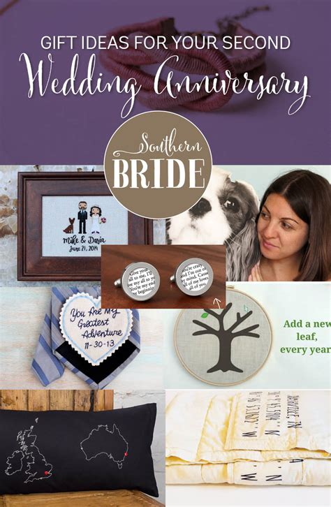 Wedding Anniversary Present Ideas by Second Wedding Anniversary Present Ideas Southern