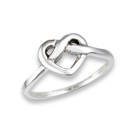 Sterling Silver Knot Ring sterling silver celtic knot ring