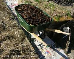 different types of vegetable gardens different types of mulch for the vegetable gardens
