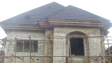 gutterless roofs home design forum the making of the port harcourt quot duplex 4 flats
