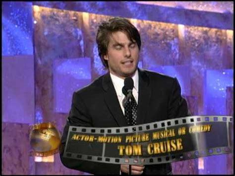 Tom Cruise Wins Top Of The Year by Tom Cruise Wins Best Actor In A Motion Picture Musical Or
