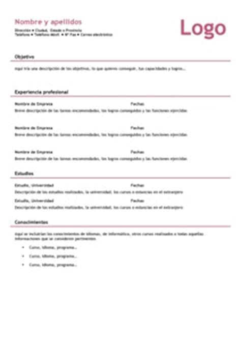 ejemplos de resume en puerto rico modelos de resume modelo curriculum