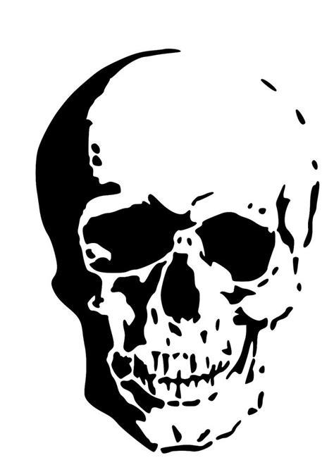 printable skull stencils free high detail skull airbrush stencil free uk postage ebay