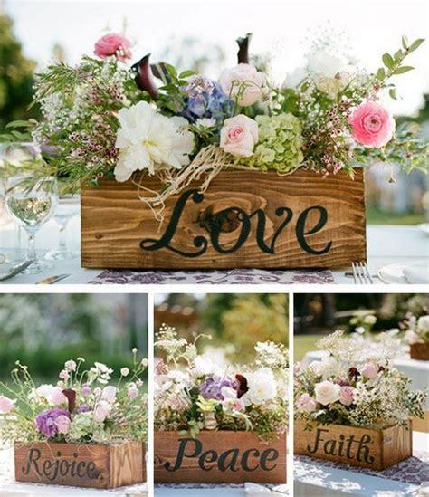 100 wooden box wedding d 233 cor centerpieces hi miss puff