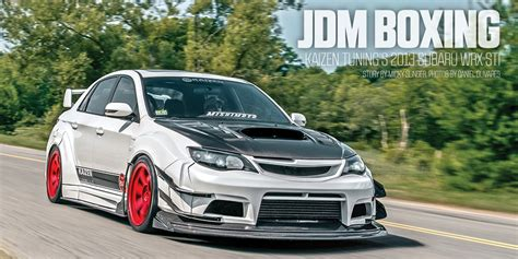 subaru wrx tuner pasmag performance auto and sound jdm boxing kaizen