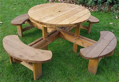 round garden bench table garden benches and garden furniture doncaster