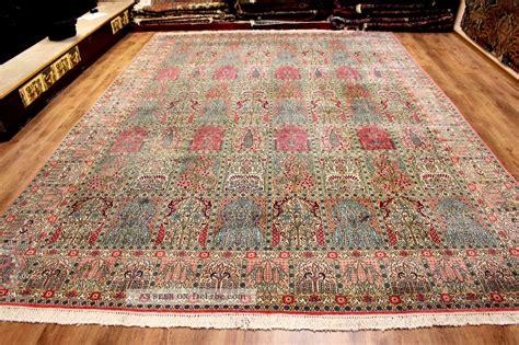 natur teppiche flachgewebe echter perser teppich 440 x 303 rug felder natur