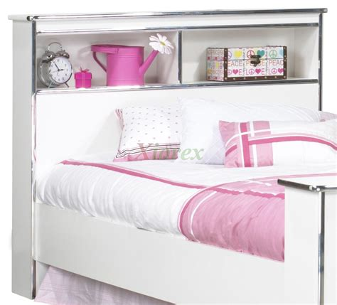 kids bed with bookcase headboard kids bookcase headboards images