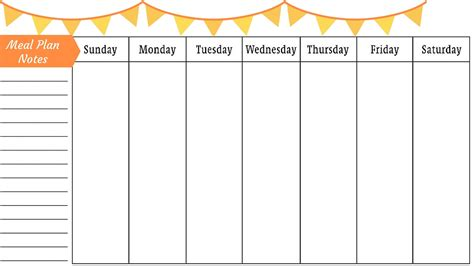 fill in printable weekly calendar make meal planning easy with sam s club family pizza combo