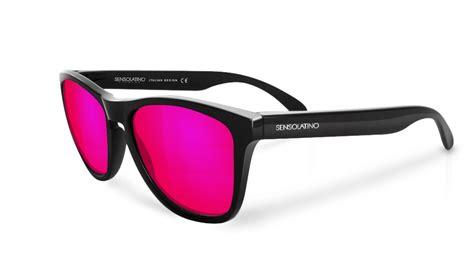 Sunglasses Skull Rider Polarized Galaxy Lens Blue venice with pink mirrored polarized lenses kacamata original bandung