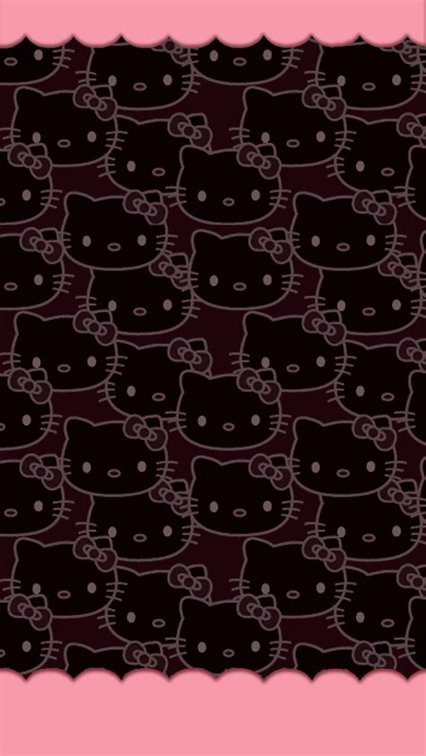 theme line hello kitty pink leopard love pink free wallpapers