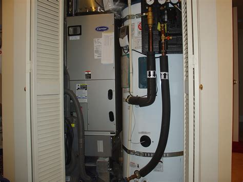 water heater in bedroom closet photos