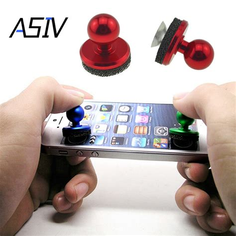 Mini Joystick It For Mobile Gaming Berkualitas asiv mini arcade stick joystick joypad for iphone for android touch tablets