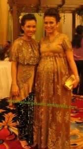 design gaun pesta hamil kebaya ibu hamil inspirasi kebaya vani pinterest kebaya