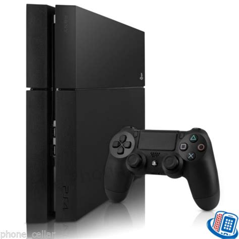 used ps4 console refurbished sony playstation 4 ps4 ps 4 500gb jet black