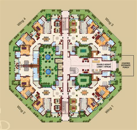 Dlf New Town Heights Floor Plan by Malibu Towne Gurgaon