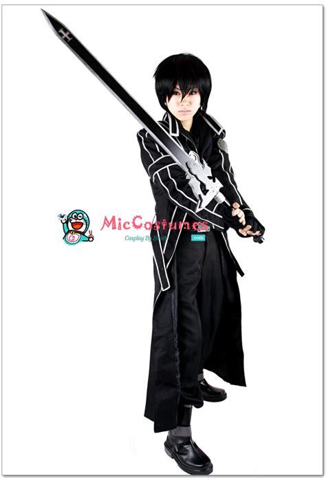 sword art online kirito cosplay sword art online kirito cosplay costume by miccostumes on