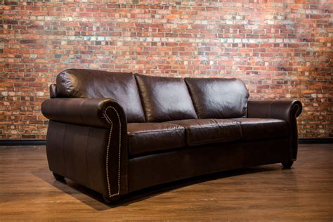 curved leather sofa denver curved sofa boss leather sofa canada