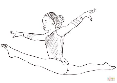 gabby douglas coloring page free printable coloring pages