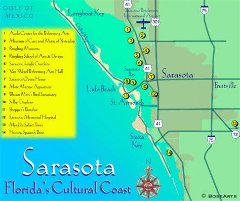 sarasota map absolutely florida sarasota map