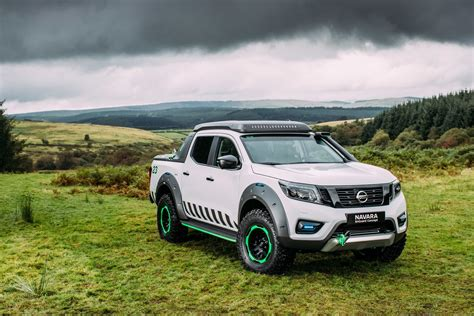 nissan navara nissan navara enguard with portable battery pack prototype
