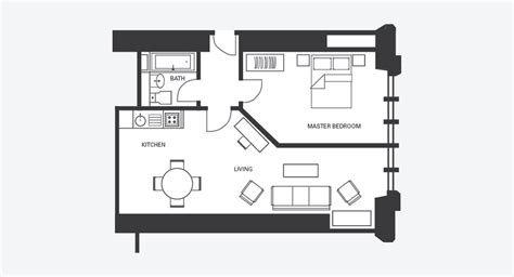 Kitchen And Dining Room Open Floor Plan hotel apartments glasgow fraser suites