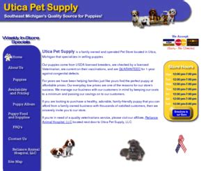 puppies for sale in macomb mi uticapetsupplyllc puppies for sale in michigan pet store in macomb county
