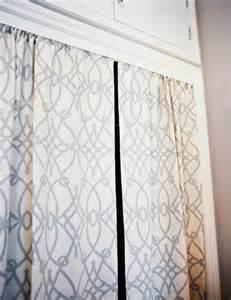 Closet curtains transitional closet lonny magazine