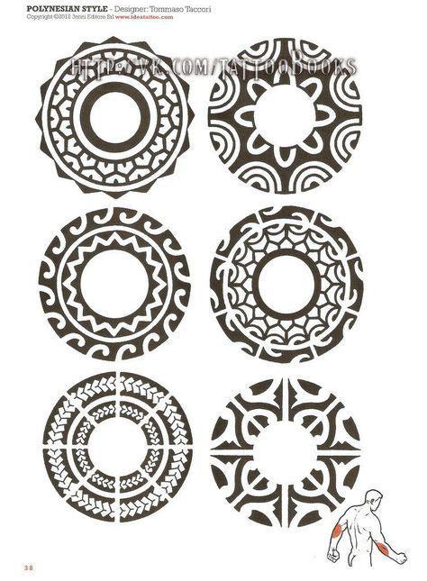 polynesian circle tattoo designs maori circle zoeken mahori tribales y